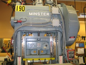 Minster 60 Ton Press 022